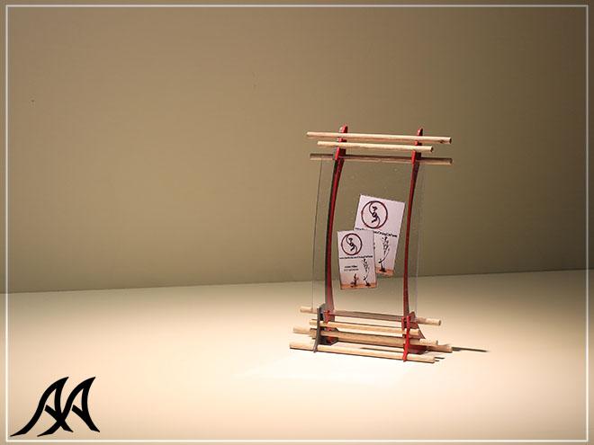 Portafoto da tavolo verticale e orizzontale arteacciaio - Portafoto da tavolo 20x30 ...