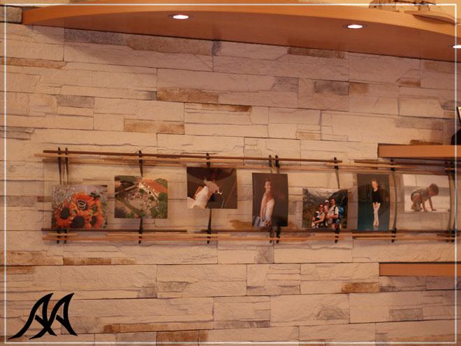 Portafoto un metro e mezzo big 1500 arteacciaio for Portafoto verticale da parete