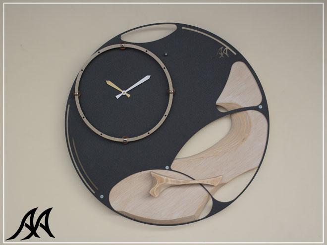 Orologio da parete purnululu arteacciaio orologio for Orologi da parete grandi dimensioni