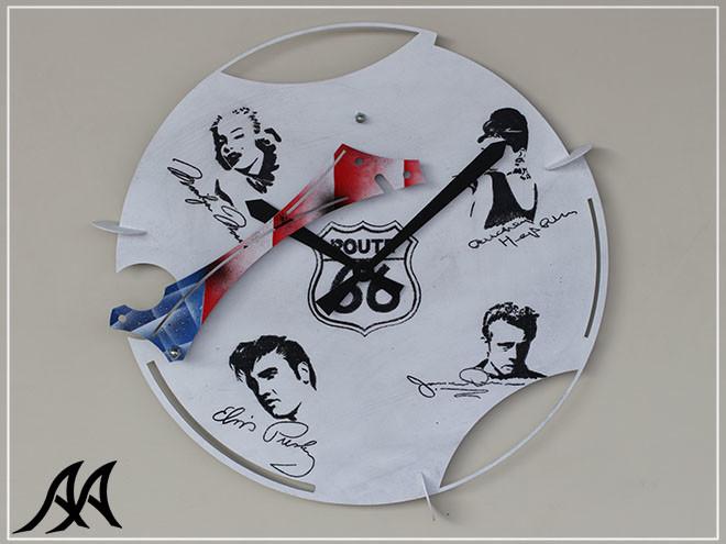 01 Orologio da parete USA