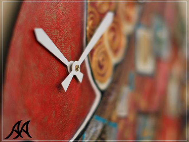 Orologi Da Parete In Tela : Orologio da parete klimt arteacciaio orologio personalizzato